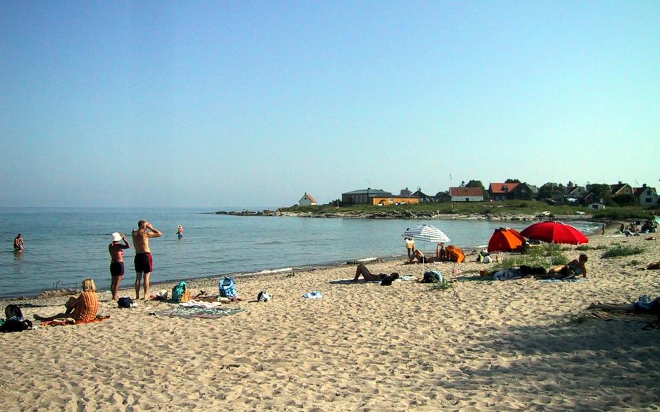 20 Stranden – Vy mot bastun