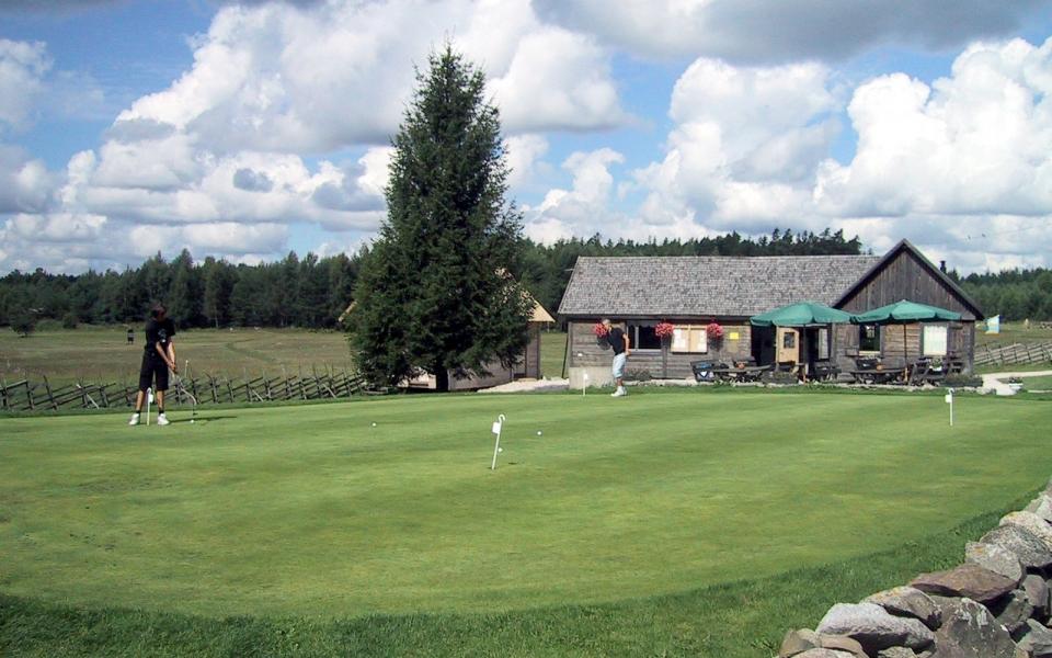 32 Golf – Klubbhuset