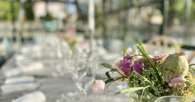 Bröllop i vårt växthus